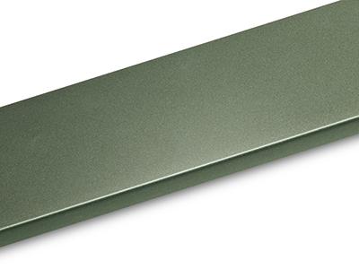 Verde scuro bianco alluminio grigio alluminio
